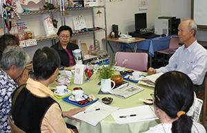 地域の高齢者の心と体の健康づくり・地域で支え合い・語り合い