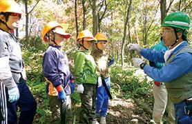 信州の多様な自然環境を通じて育む「生きる力」